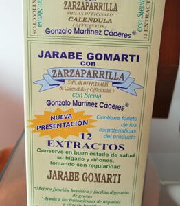 Zarzaparrilla Jarabe Gomarti