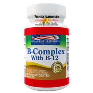 B-Complex con B-12 Healthy America
