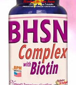 BHSN Biotina Complex Freshly
