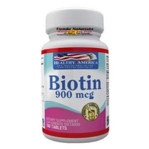 Biotin 900 mcg x 100 Soft – Healthy America