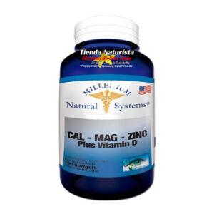 Cal-Mag-Zinc Plus Vitamina D System