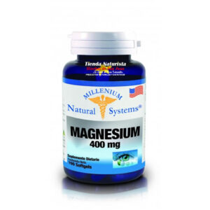 Magnesium 400Mg Natural System