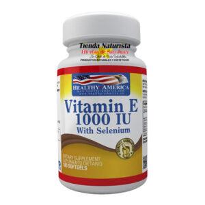 Vitamina E 1000 IU Healthy America